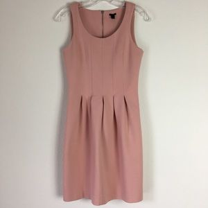 Light Pink J. Crew fit & flare dress Sz. 0 EUC